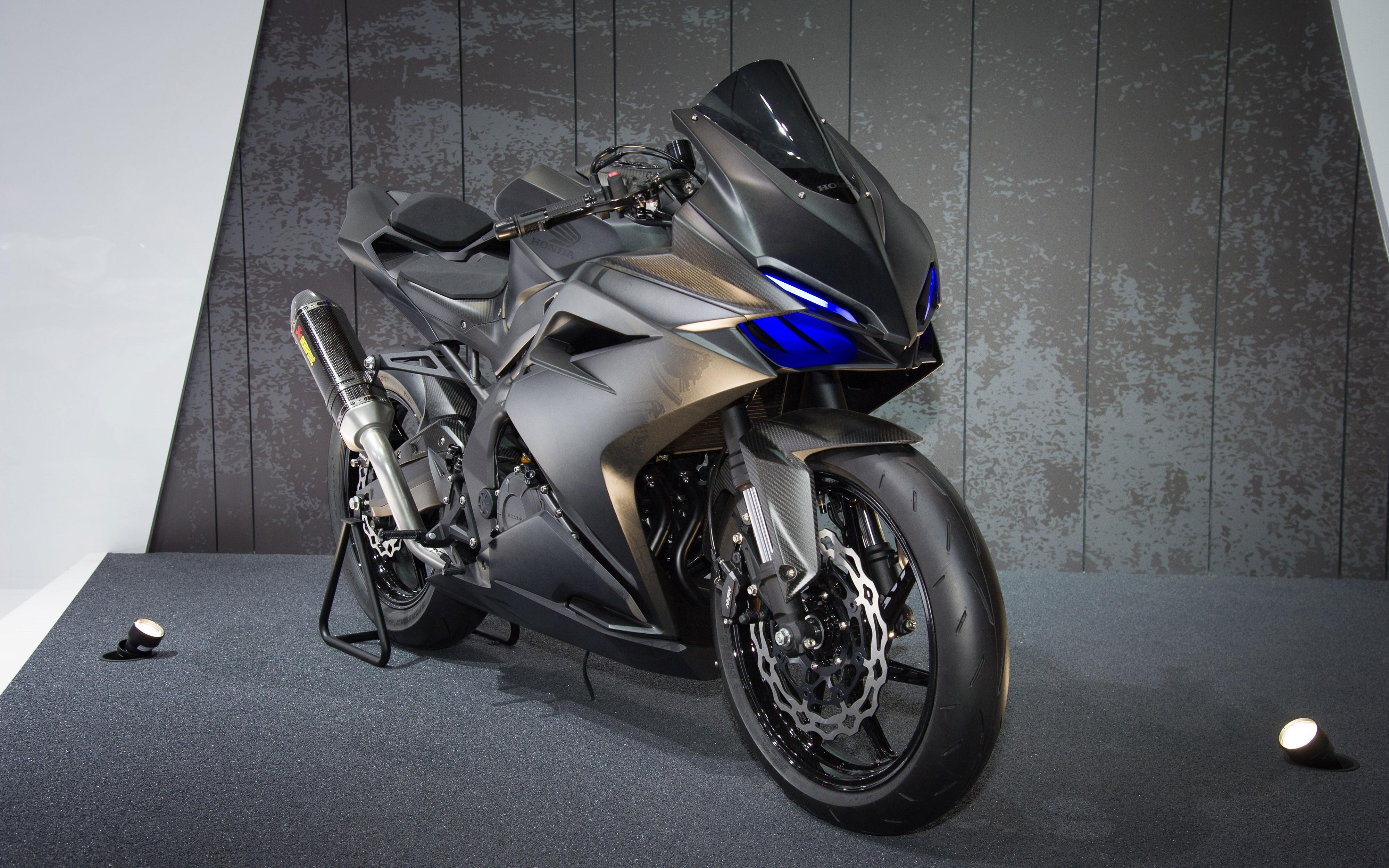Honda cbr250rr sports bike 4k. обои скачать