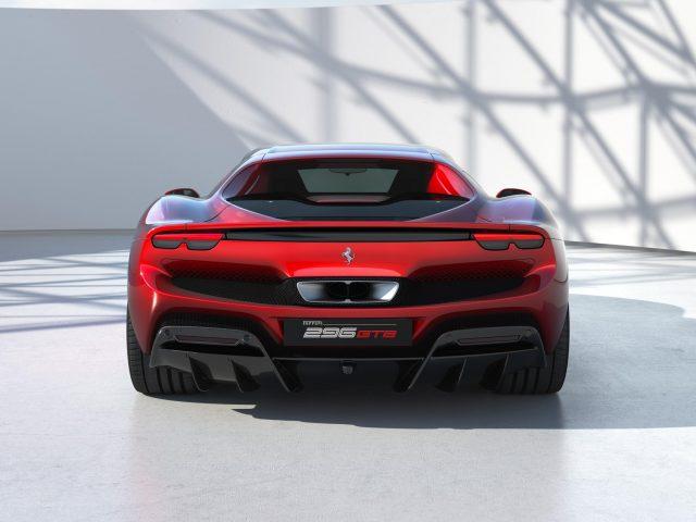 Ferrari 296 gtb 2022 4 автомобиля