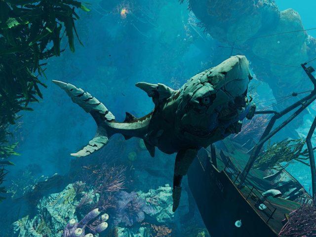Людоед акула корабль глубокое море