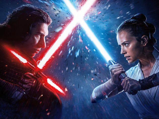 Рей против Кайло Рена Звездные войны расцвет Скайуокера