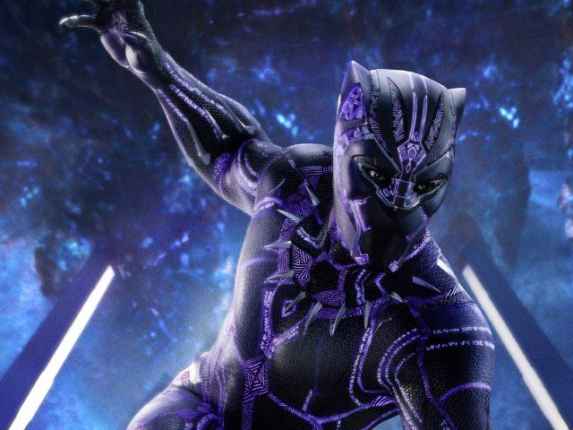 Обложка журнала Black panther empire