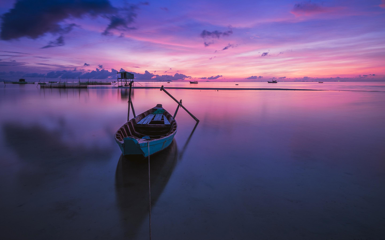 Фиолетовый Восход. обои скачать