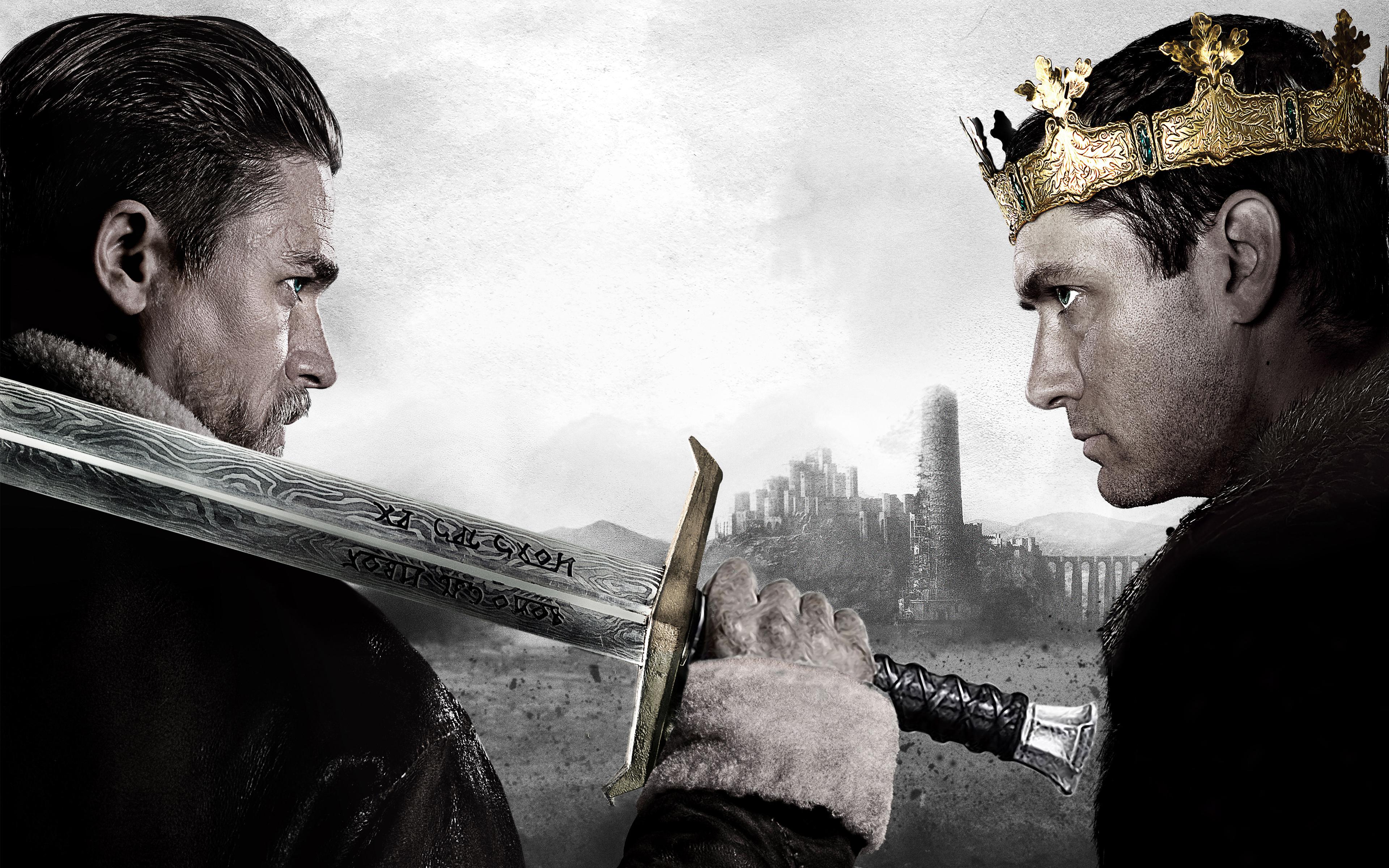 Король Артур легенды о мече 5к. обои скачать