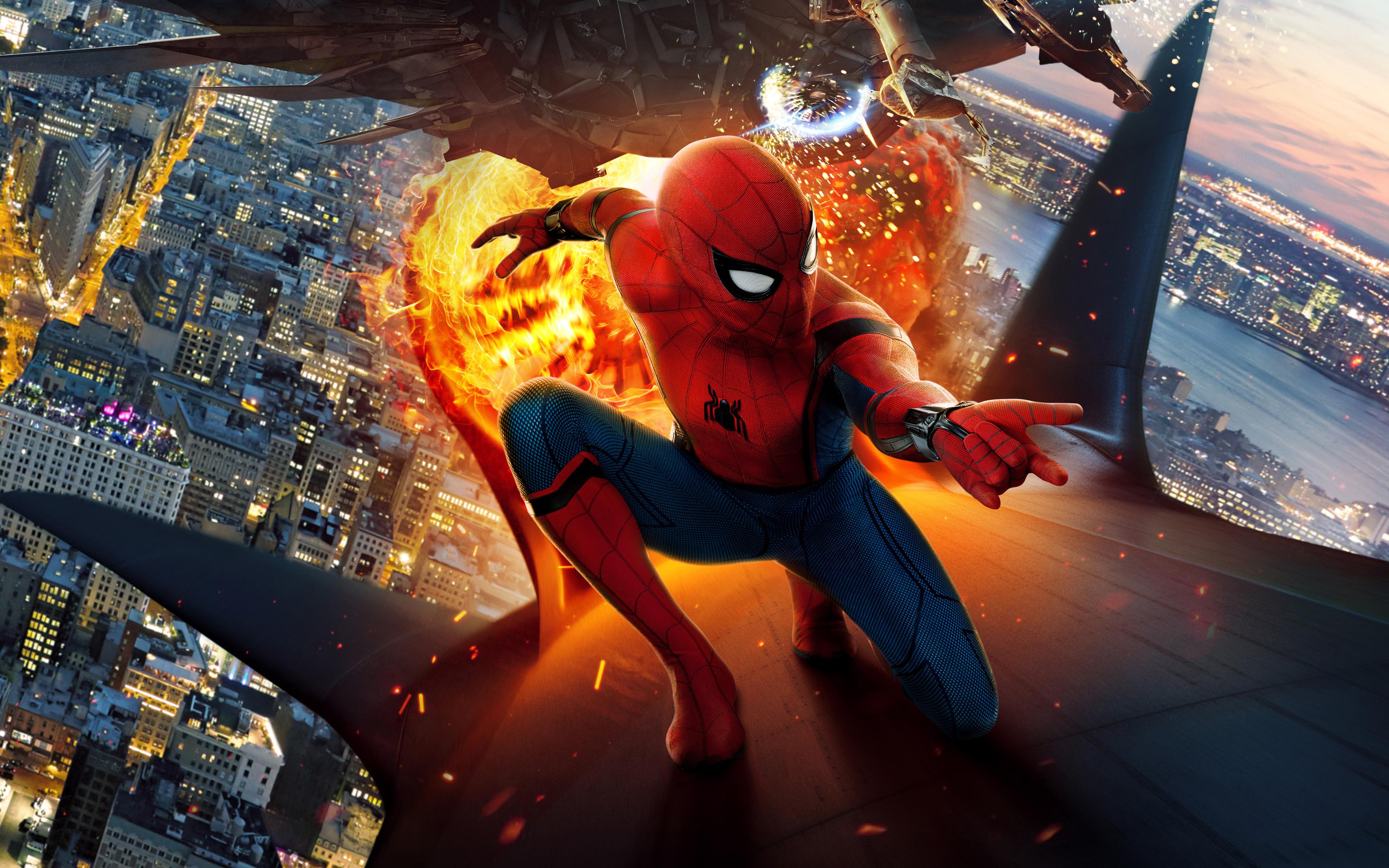 Человек паук возвращение обои скачать