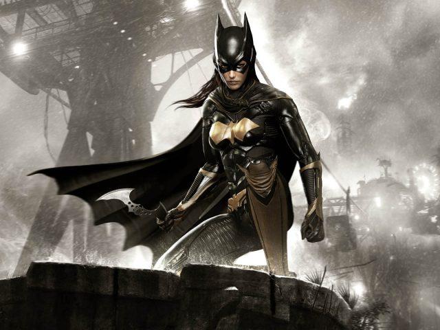 Бэтмен Arkham рыцарь batgirl