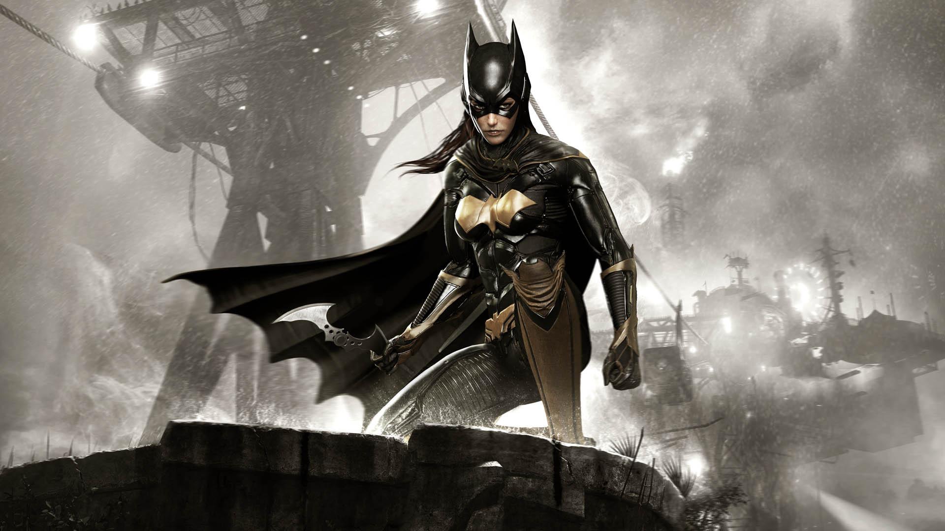 Бэтмен Arkham рыцарь batgirl обои скачать