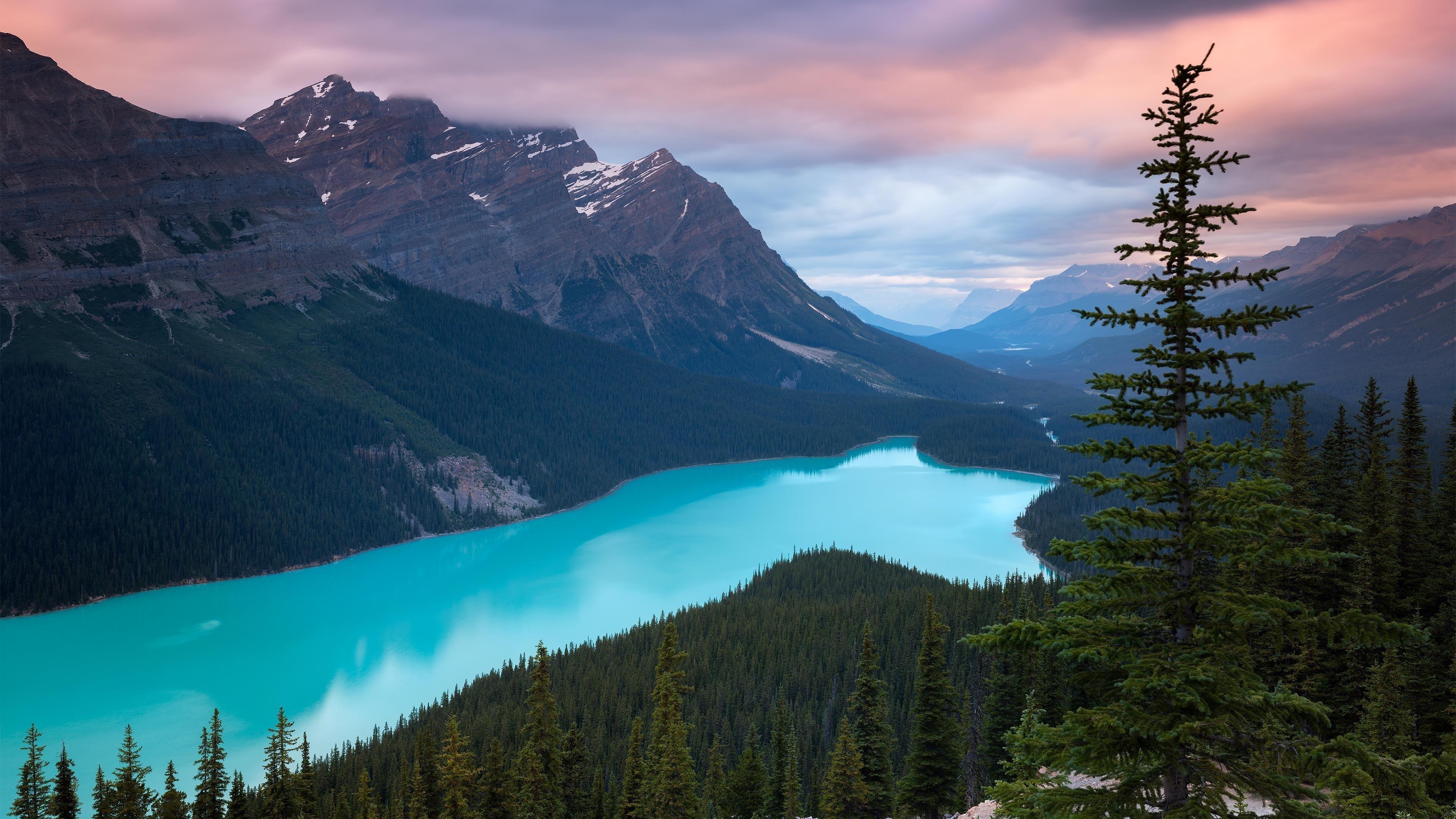 Национальный парк Банф в Канаде обои скачать