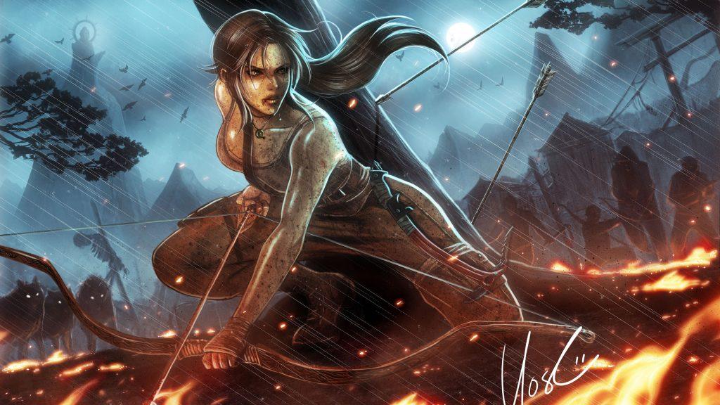 Lara croft tomb raider reborn. обои скачать