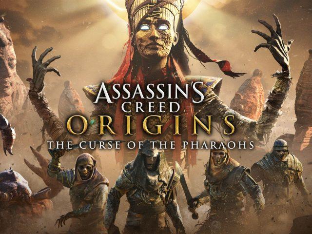 Ассассинс Крид происхождение проклятия фараонов