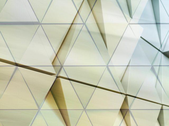 Художественный треугольник узор абстрактный