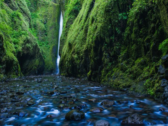Ущелье онеонта водопад, Орегон