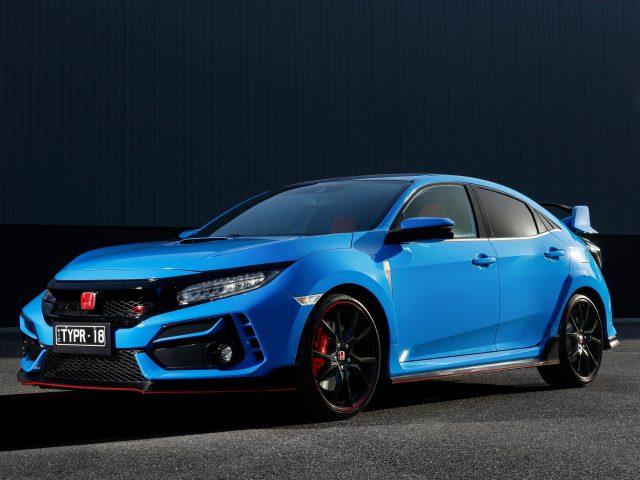 Honda civic type r 2021 3 автомобиля