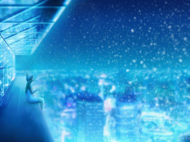 Снегопад мечта