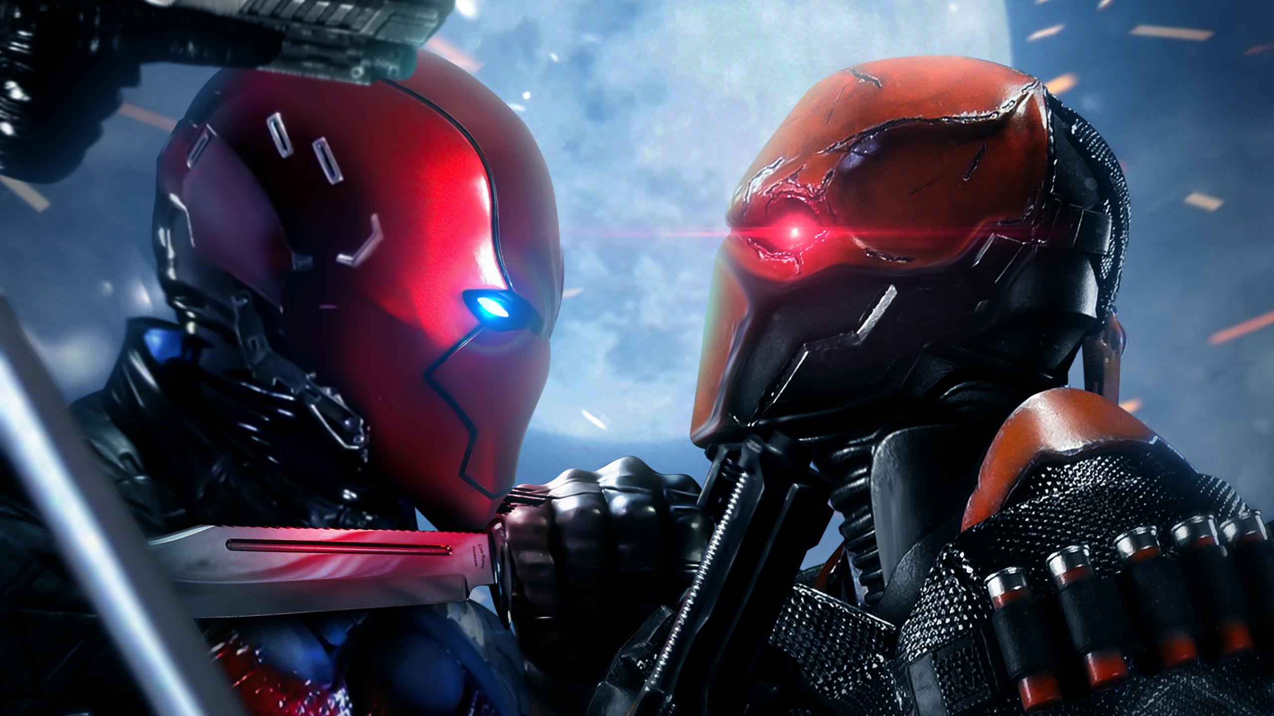 Красная Шапочка против Дефстроука обои скачать