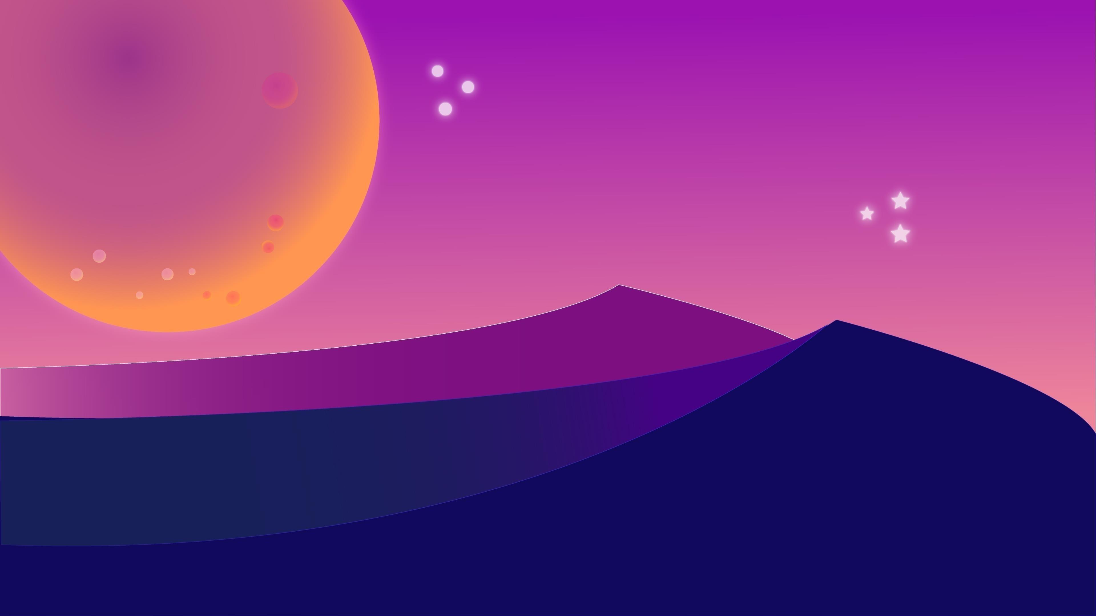 Художественная пустыня обои скачать