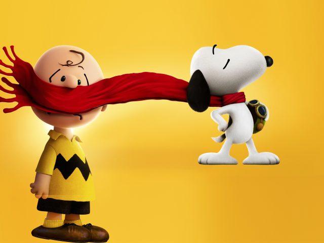 Чарли Браун, снупи и мелочь пузатая.