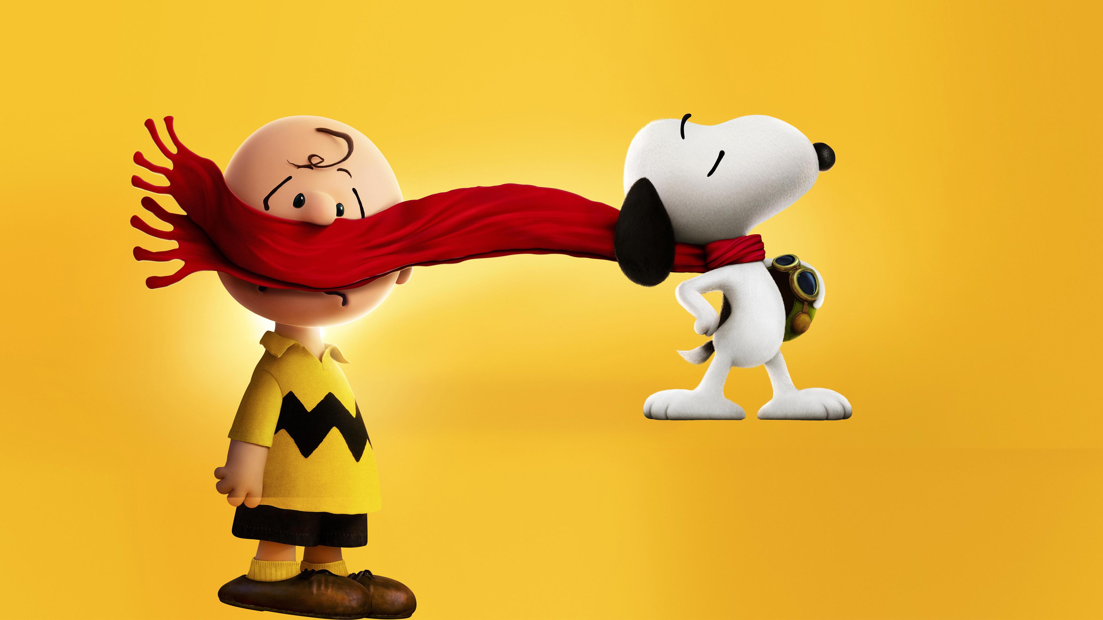 Чарли Браун, снупи и мелочь пузатая. обои скачать