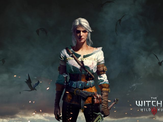 Ciri the witcher 3 wild hunt.