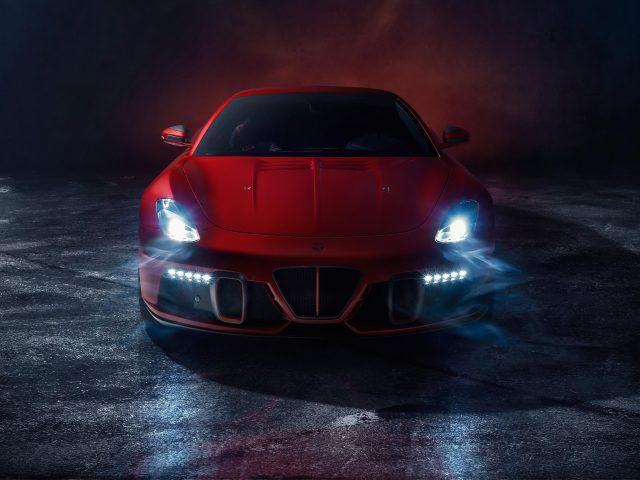 Красный универсал superleggera aero 3 2020 4 автомобиля