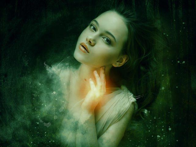 Красивая девушка портрет