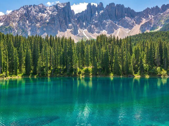 Горы озера карерзее