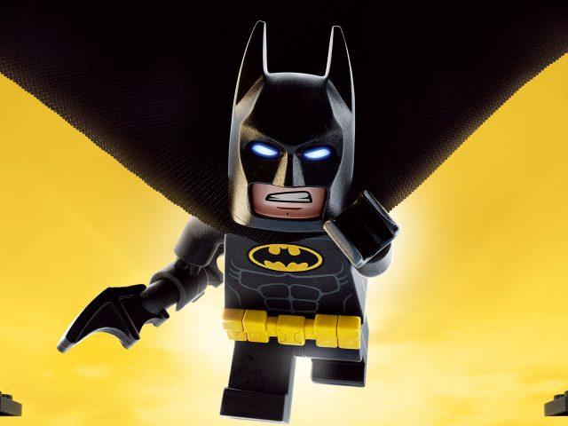 Лего Бэтмен 4к