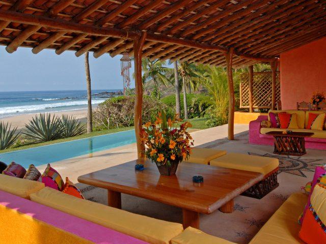 Pool,  бассейн,  диваны,  столик