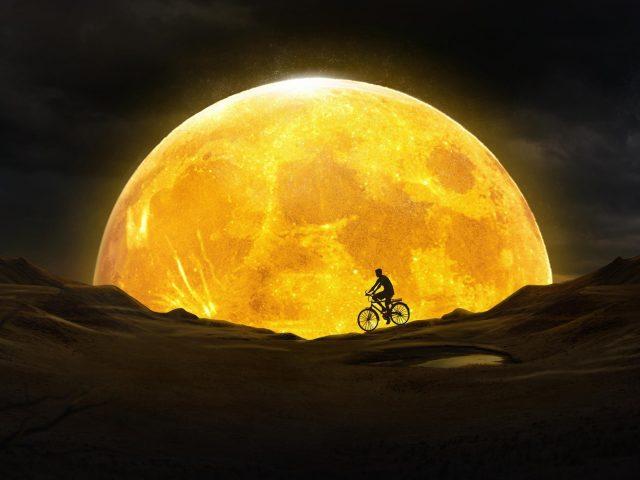 Мечта о золотой Луне