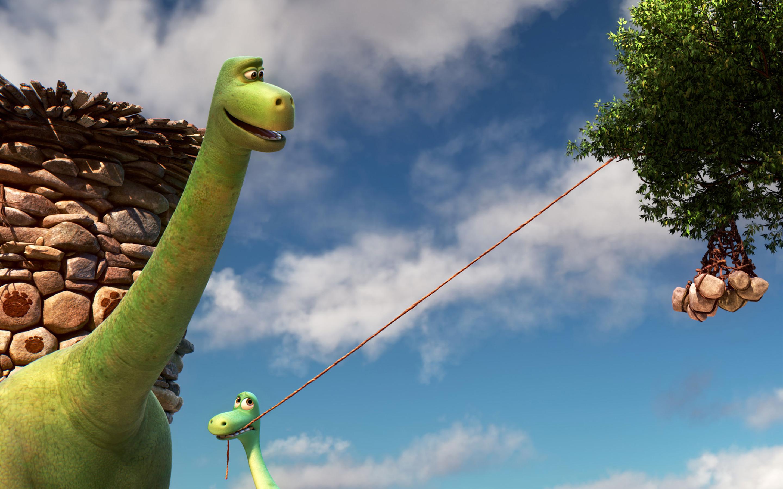 Хороший динозавр. обои скачать