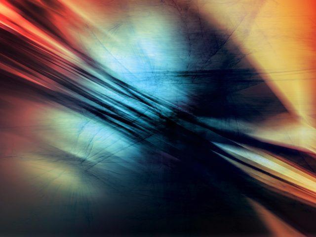 Цветная виньетка абстрактная