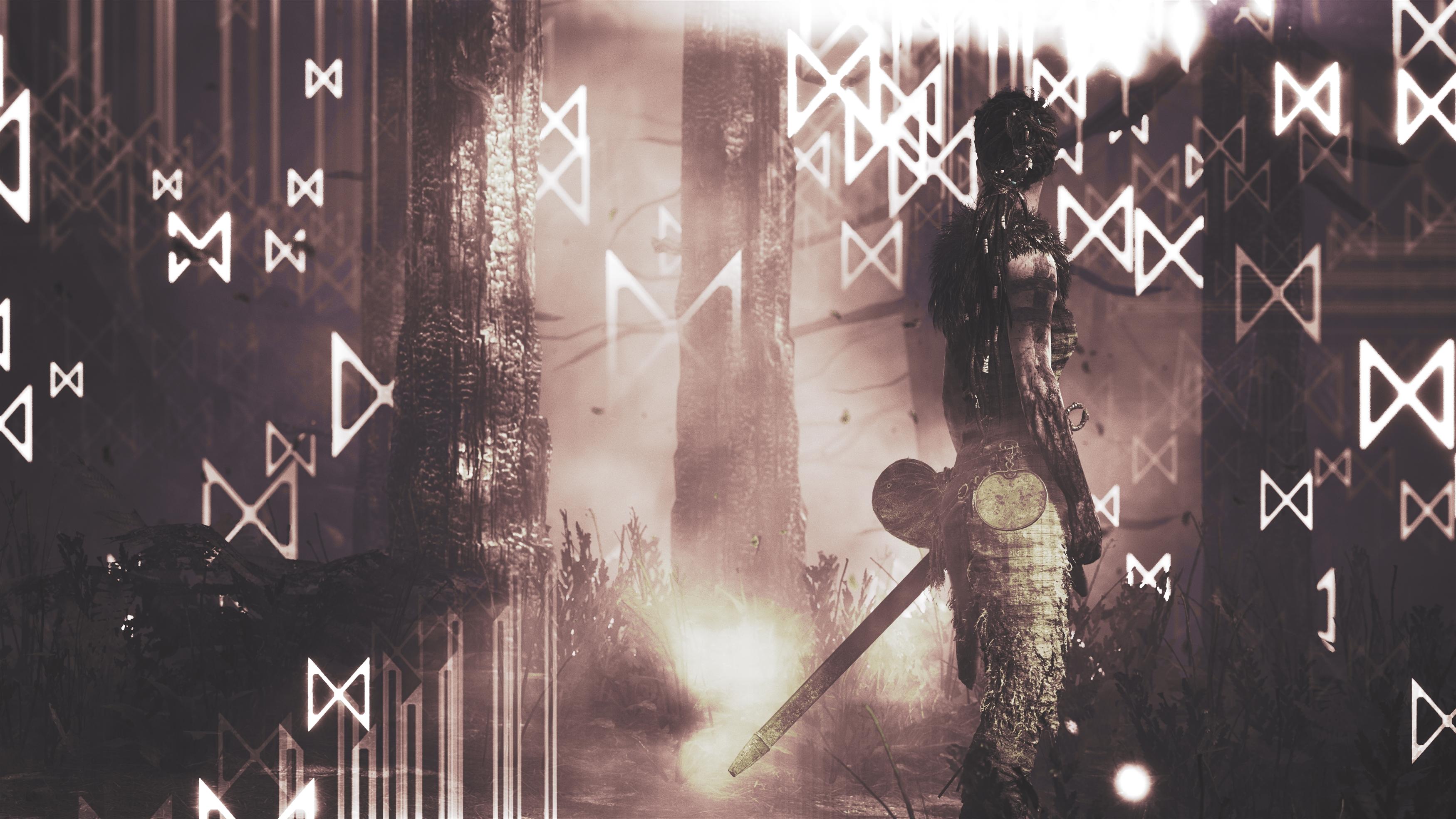Hellblade senuas жертва игра обои скачать