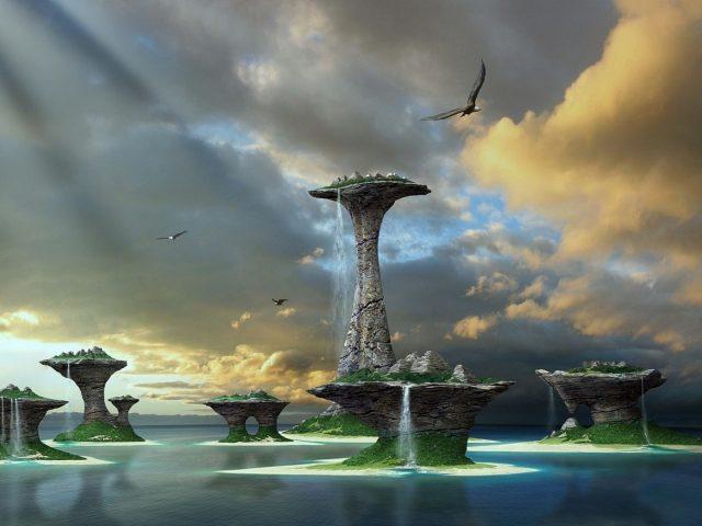 Море,  вода,  острова