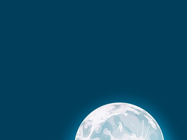 Фантазия лунного ребенка 6k