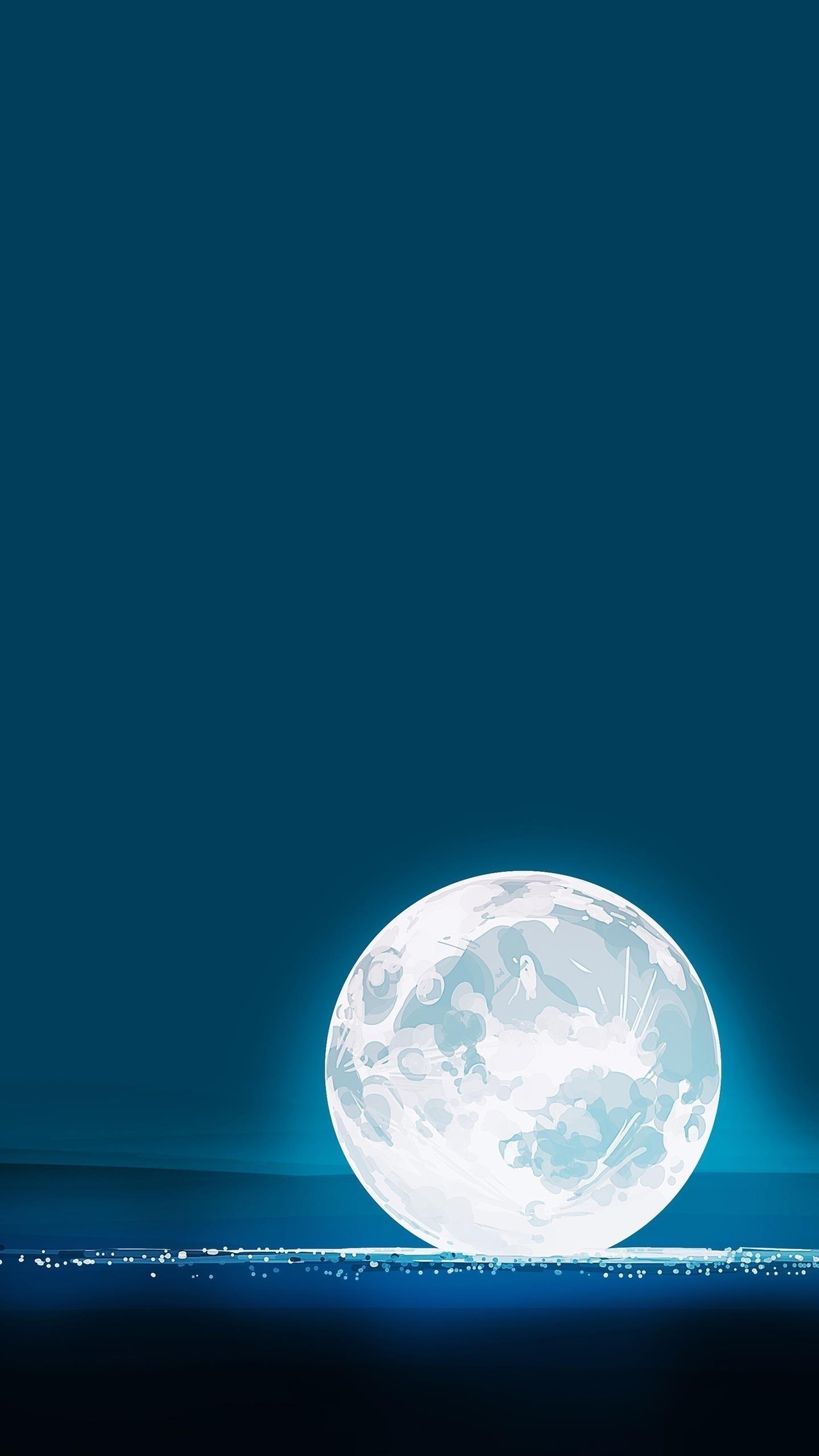 Фантазия лунного ребенка 6k обои скачать