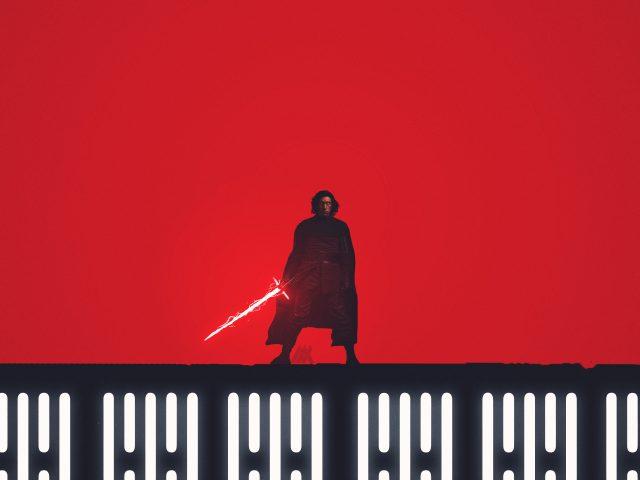 Кайло-kylo РЕН Звездные войны последний джедай художественное произведение