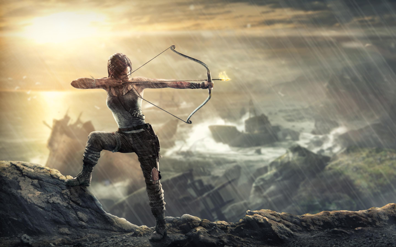 Tomb Raider Lara Croft обои скачать