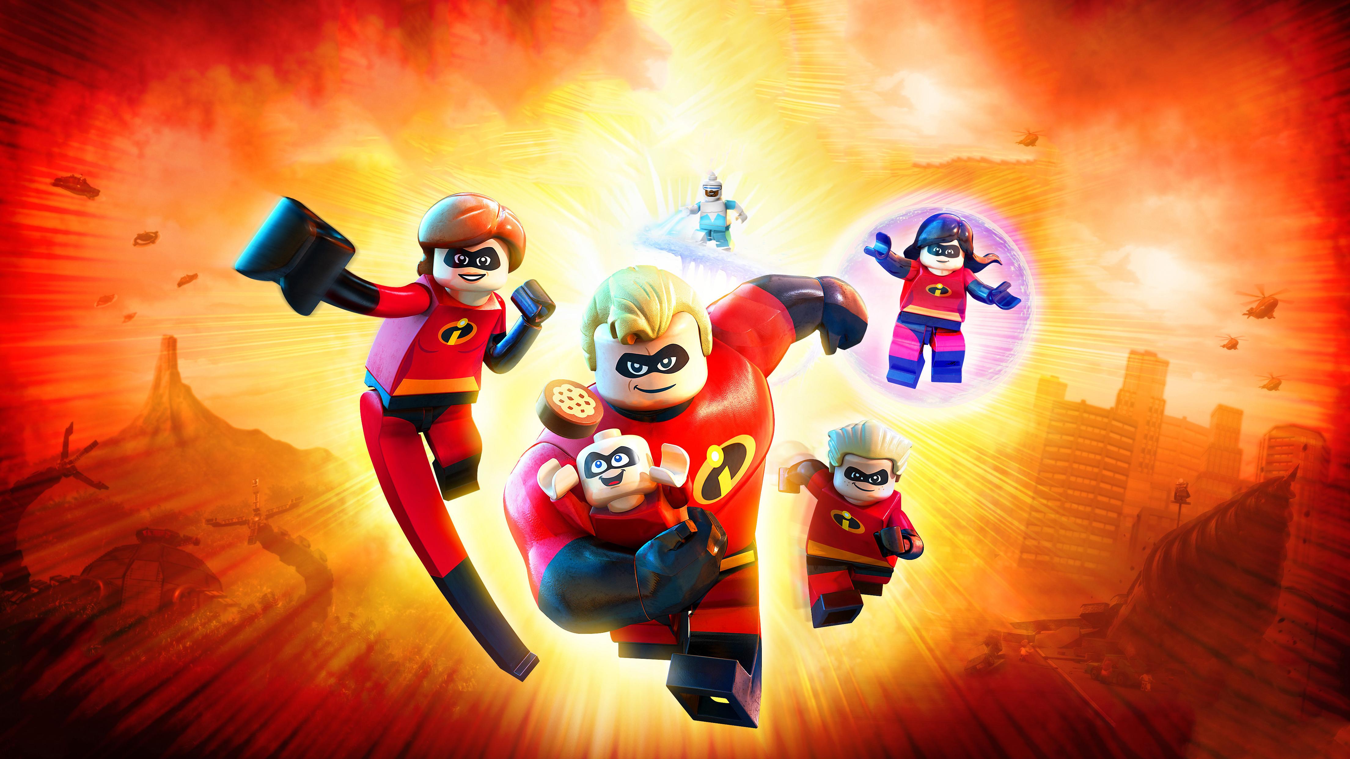 Игра lego incredibles 2 обои скачать