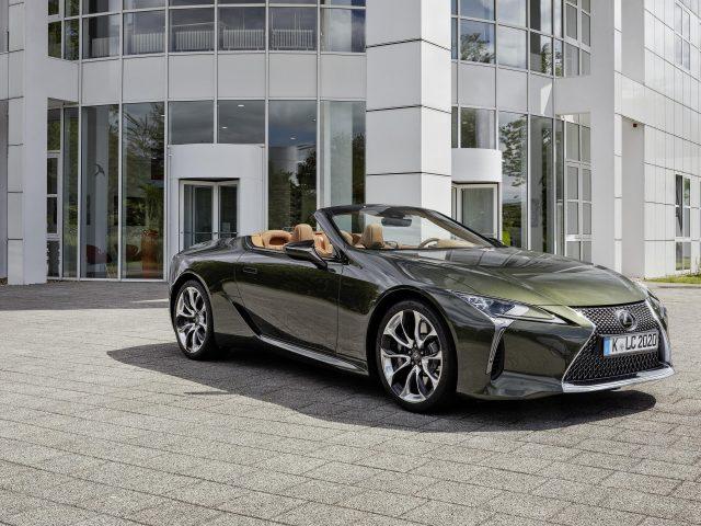 Lexus lc 500 кабриолет 2020