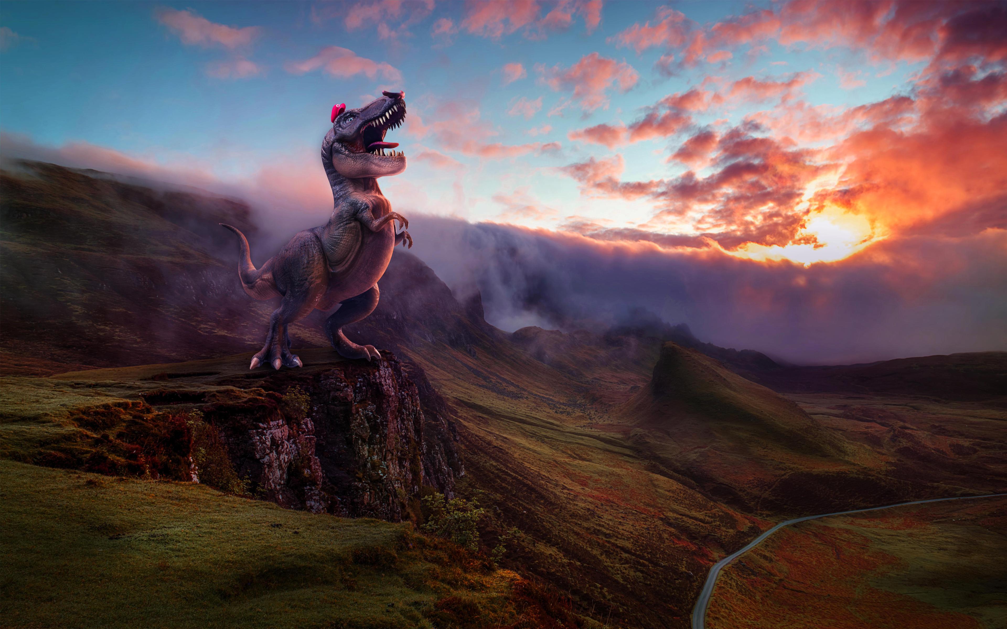 Супер Марио Одиссея динозавров обои скачать