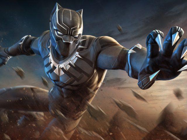 Черная пантера marvel конкурс чемпионов