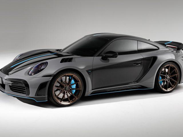 Топкар porsche 911 turbo s stinger gtr 2021 4 автомобиля