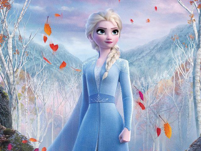 Замороженные королева Elsa 2
