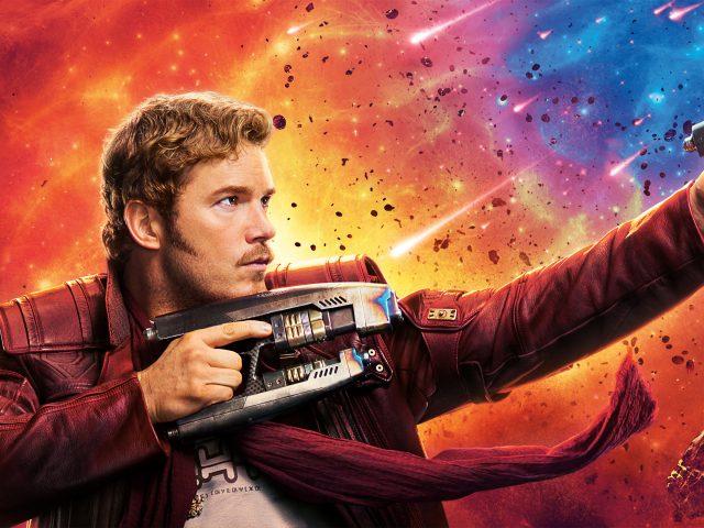 Крис Пратт-Звездный лорд стражи галактики том 2 8к.