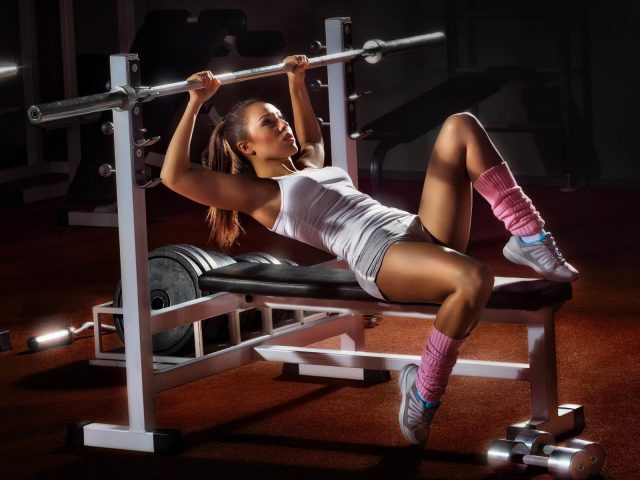 Girl,  девушка,  спортзал,  спорт