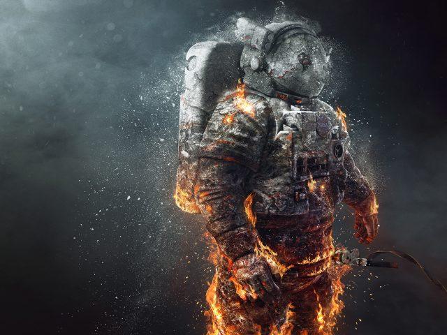 Замороженный астронавт