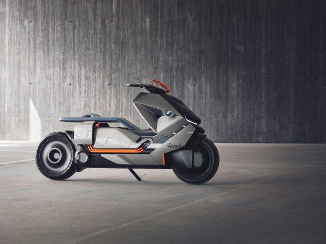Концепт BMW motorrad в самокат ссылке.