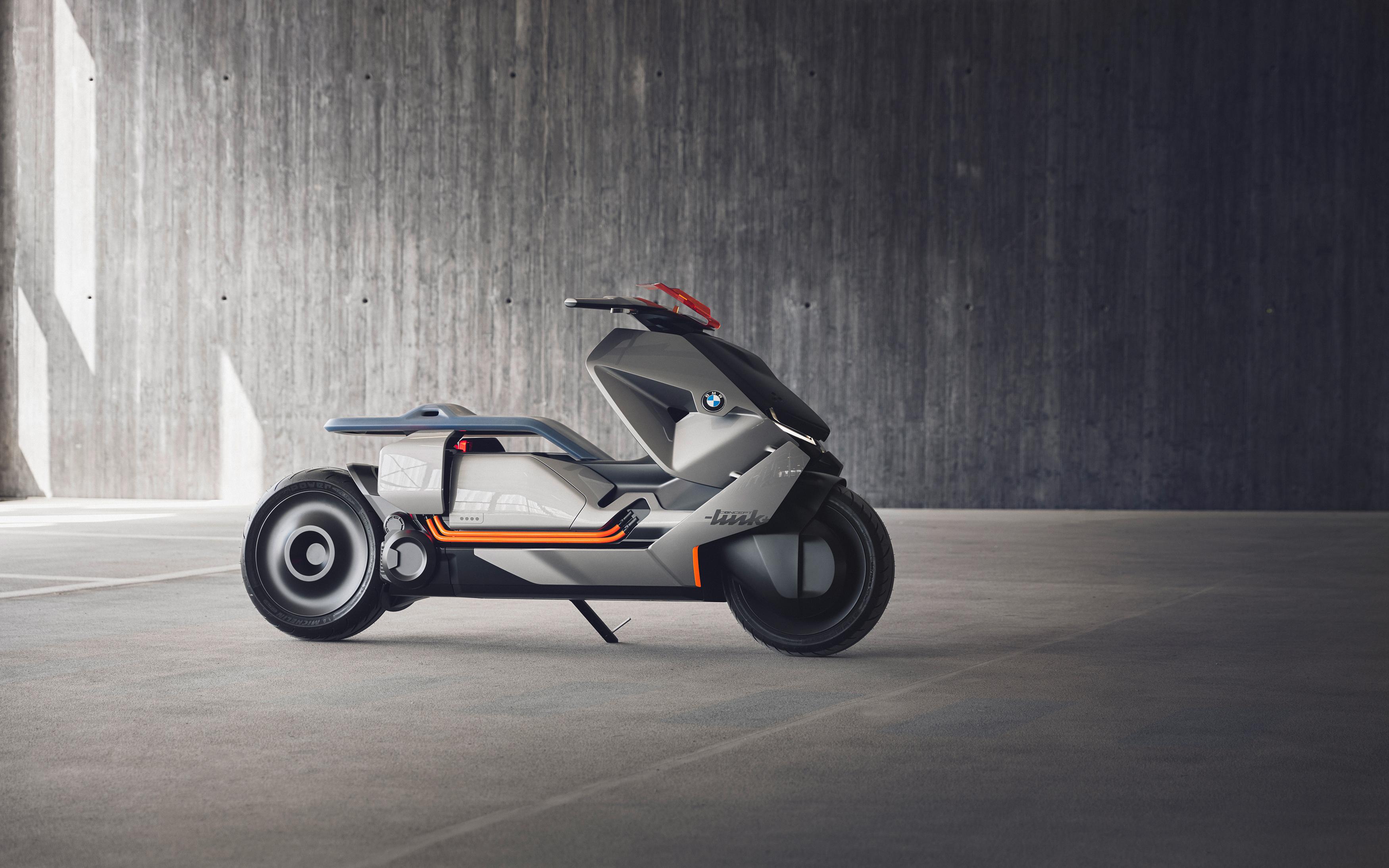 Концепт BMW motorrad в самокат ссылке. обои скачать