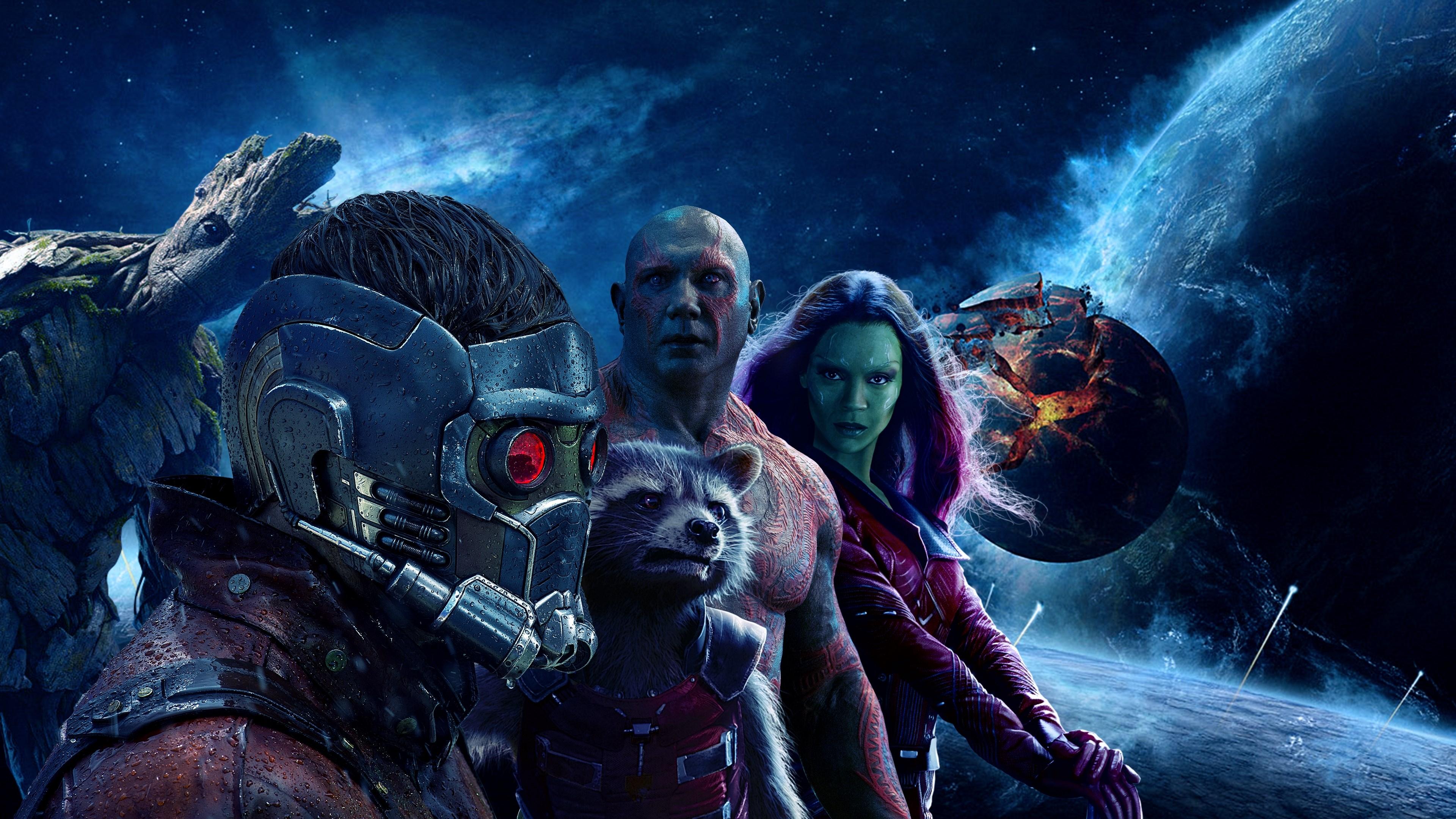 Guardians of the Galaxy Vol 2 обои скачать