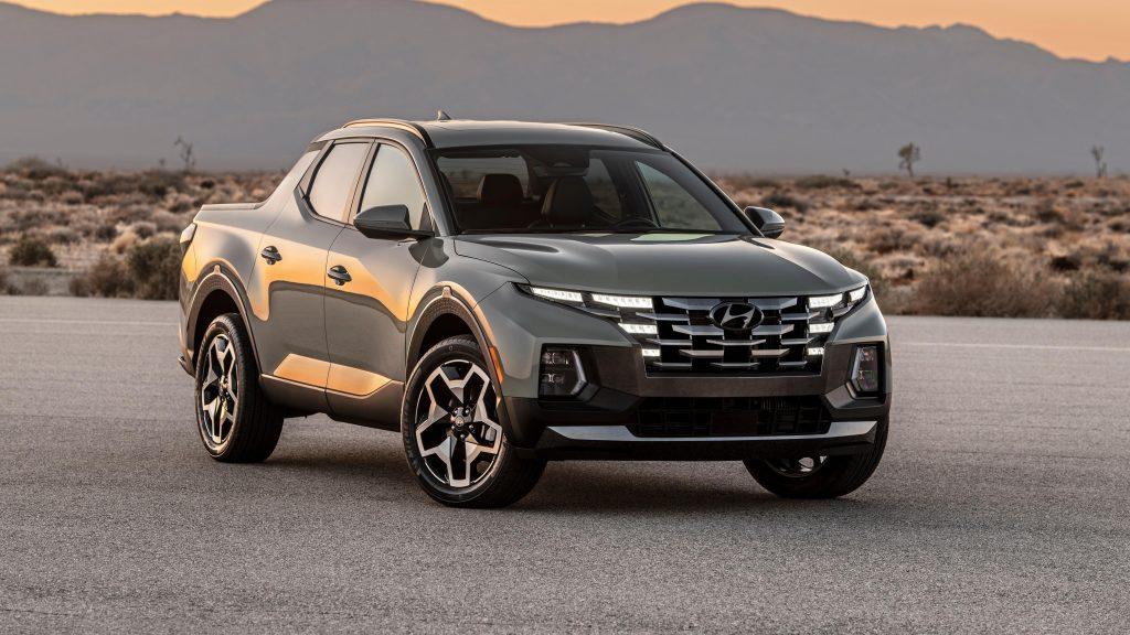 2022 автомобили hyundai santa cruz обои скачать