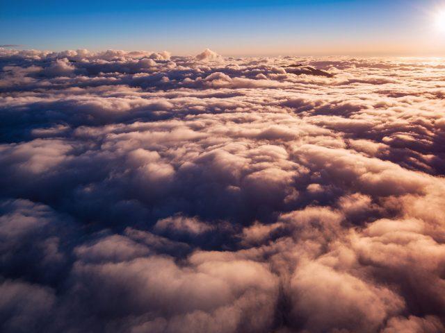 Восход облака